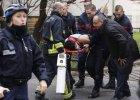 """Strzelanina w redakcji """"Charlie Hebdo"""" w Paryżu. 12 zabitych. Hollande: To atak terrorystyczny"""