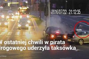 W Olsztynie rowerzysta oszukał przeznaczenie. Przed śmiercią uratował go wypadek samochodowy