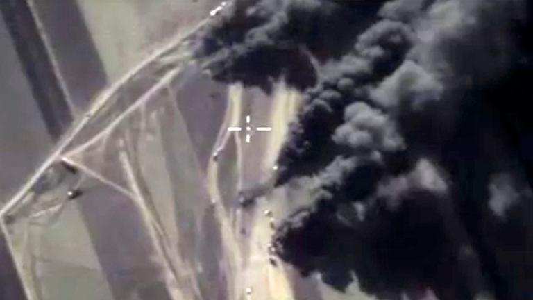 Syryjska Koalicja Narodowa oskarżyła Rosjan o ataki na ludność cywilną