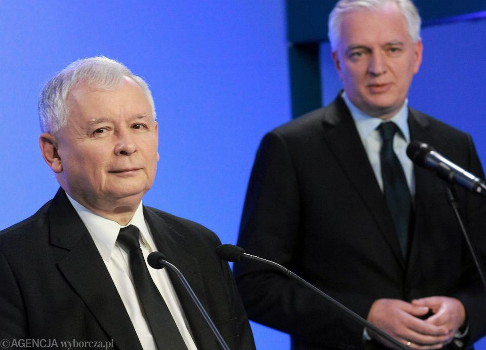 Znalezione obrazy dla zapytania kaczyński konwencja