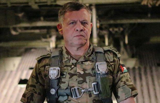 Kr�l Jordanii Abdullah II