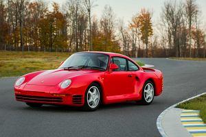 Aukcje   Wyj�tkowe Porsche 959 trafi pod m�otek