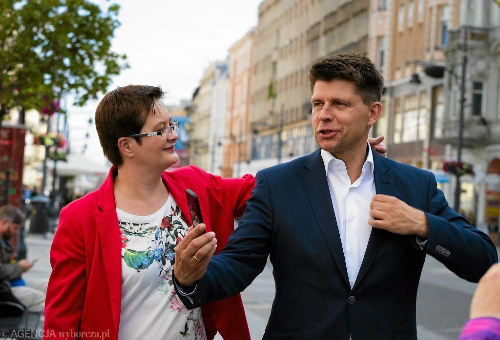 Ryszard Petru i Katarzyna Lubnauer - były i obecna przewodniczący Nowoczesnej