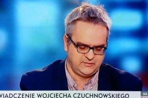 Wojciech Czuchnowski wyszed� ze studia TVP Info w prote�cie przeciw zwalnianiu dziennikarzy