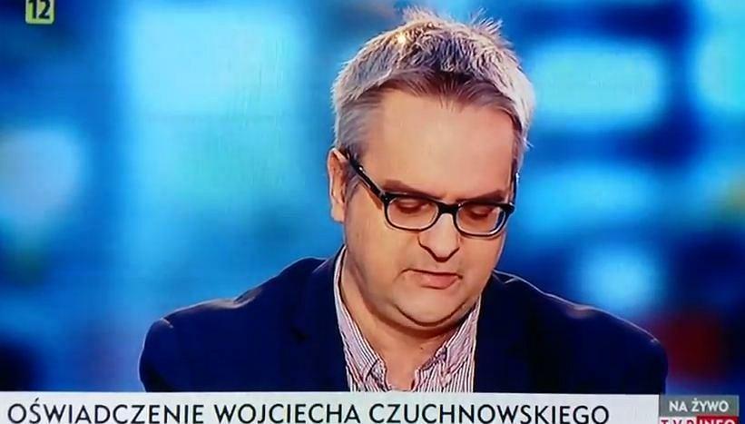 Wojciech Czuchnowski w TVP Info