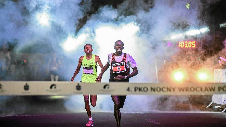 4 . PKO Nocny Wrocław Półmaraton. Zwycięzca Dominic Mailu Musyimi