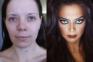 Co potrafi makija�? Zobacz niezwyk�e metamorfozy zwyk�ych dziewczyn