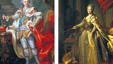 Caryca Katarzyna, zwana Sophie, była pierwszą prawdziwą miłością Poniatowskiego, spełnioną zarazem fizycznie