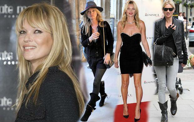 Kate Moss - kult stylu modelki wciąż żywy
