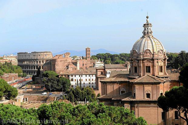 Rzym - panorama miasta