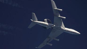 E-3 Sentry w barwach NATO gdzieś nad Polską