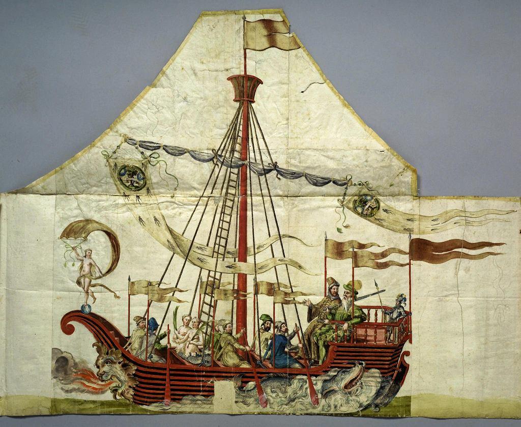 Eksponat z wystawy w pałacu Wallensteina w Pradze  /