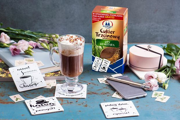 Słodka przerwa na kawę! Zbierz całą kolekcję kawowych podkładek Diamant