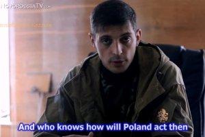 Rebeliant z Donbasu do Polski: Przesta�cie wysy�a� tu czo�gi. Nie zatrzymamy si� na Doniecku, p�jdziemy do was