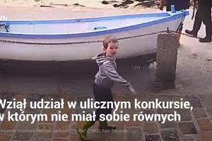 Ośmiolatek zatańczył na ulicy, wygrał wakacje i podbił setki tysięcy serc