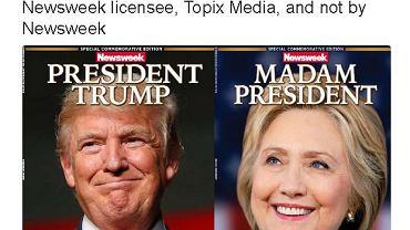 Okładki wyborcze Newsweeka