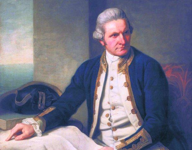 Dziennik z podr�y kapitana Cooka