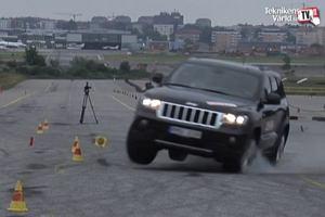 Jeep Grand Cherokee - tym razem p�kaj� opony