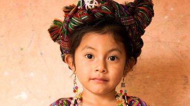 """Ixil Maya girl"", Nebaj, Ixil Triangle, Gwatemala"