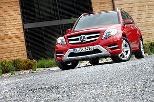 Mercedes GLK - test   Pierwsza jazda