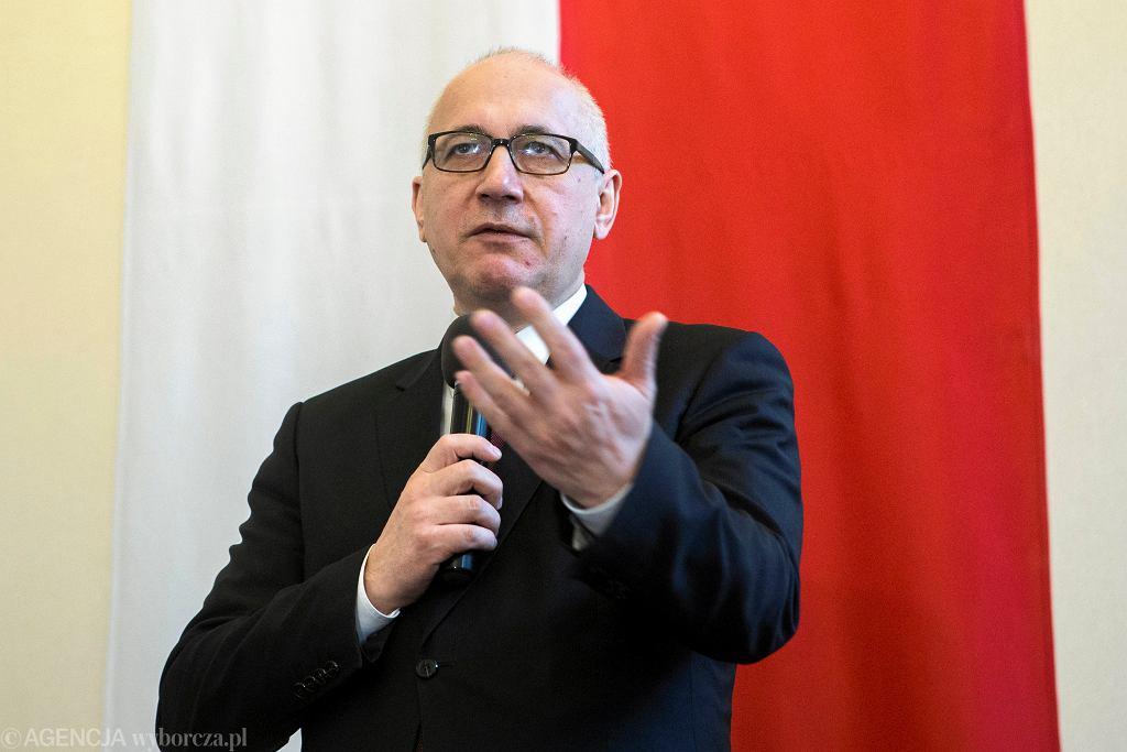 Minister Spraw Wewnętrznych i Administracji Joachim Brudziński