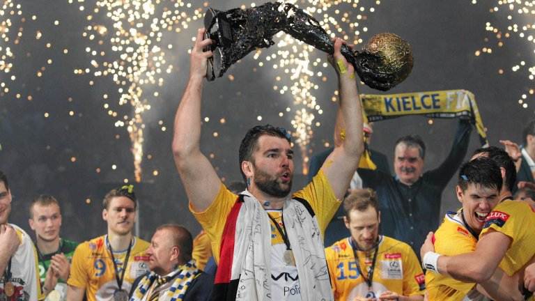 Kolonia, 25 maja 2016 rok,  Finał Four LM.  Po meczu Vive Tauron Kielce - MVM Veszprem