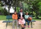 Mie� dziecko w Kamerunie