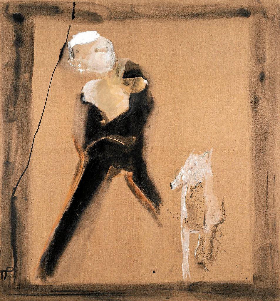 Teresa Pągowska, Czarna i mały biały, 2001 / MARCINLABUZ