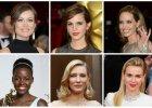 Oscary 2014: Najlepsze fryzury i makija�e gwiazd. Kto zachwyci�?