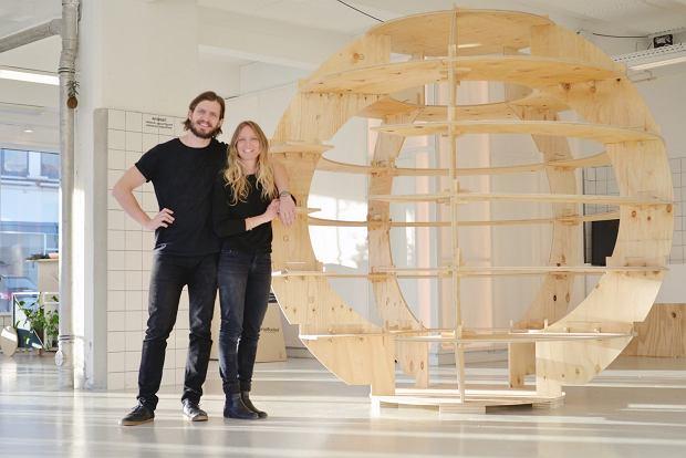Twórcy 'The Growroom' Mads-Ulrik Husum oraz Sine Lindholm