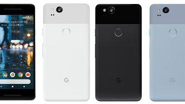 Google Pixel 2 i Google Pixel 2 XL (render)