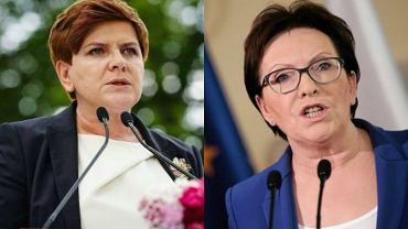 Beata Szydło i Ewa Kopacz podróżują po Polsce, by rozmawiać z wyborcami
