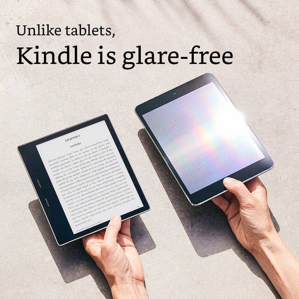 Zdjęcie numer 3 w galerii - Debiutuje Kindle Oasis 2 - wodoodporny czytnik e-booków od Amazonu. Wygodniejsze czytanie w wannie za 3... 2... 1...