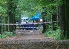 Zwłoki znaleziono przy jednej z alejek w Lesie Kabackim