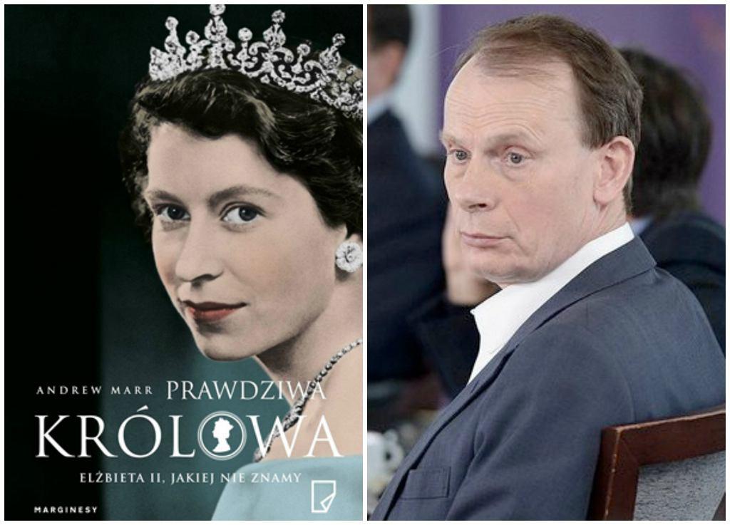 Książka Andrew Marra ''Prawdziwa królowa. Elżbieta II, jakiej nie znamy'' ukazała się nakładem Wydawnictwa Marginesy (fot. materiały prasowe / Kremlin.ru / Wikimedia.org / CC-BY-3.0)