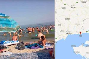 Za spraw� wojny na wschodzie Ukrainy wie� Siedowe nad Morzem Azowskim sta�a si� ulubionym kurortem prorosyjskich separatyst�w