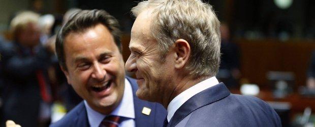 """""""Mamy newsa..."""". """"Tak, nie m�w nikomu"""". S� przecieki: Premier Tusk wybrany na szefa RE"""