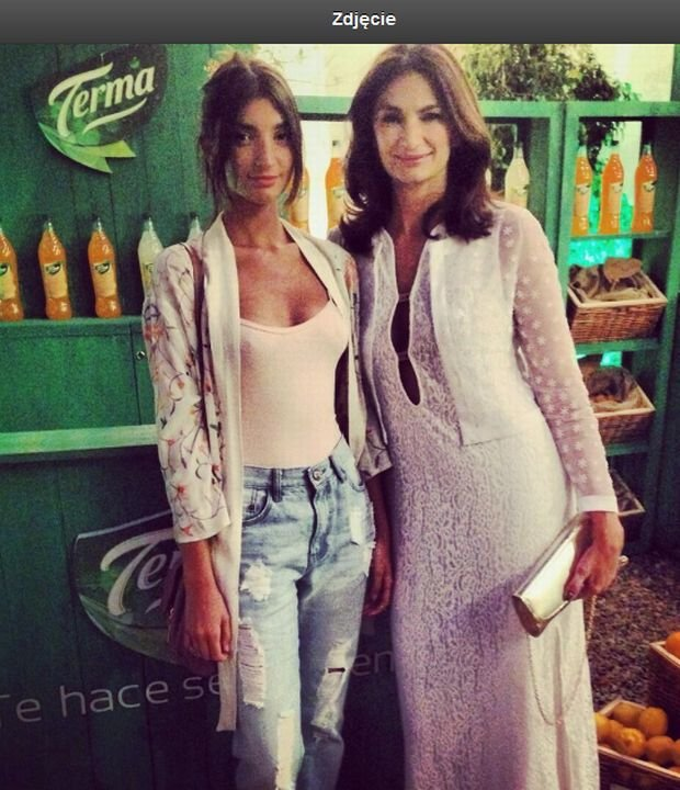 Mariana Arias z córką