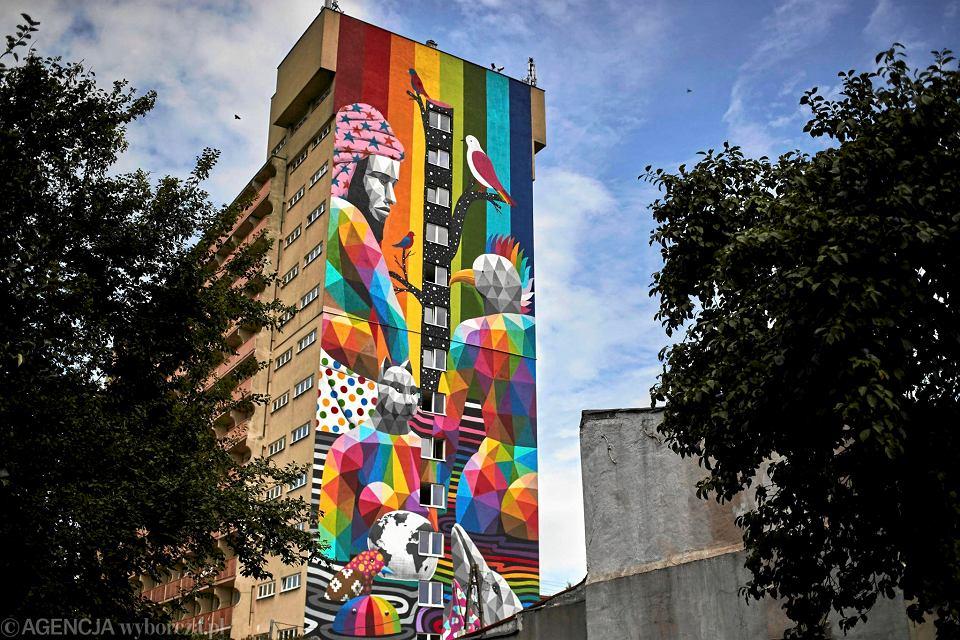 Mural W Lodzi Co Zostalo Po Festiwalu Urban Forms Kompletna