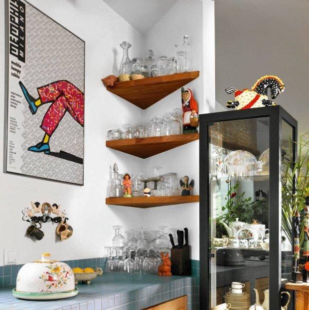 przechowywanie, schowki, małe wnętrza, półki narożne