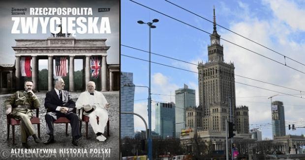 Ok�adka ksi��ki Ziemowita Szczerka/ Pa�ac Kultury