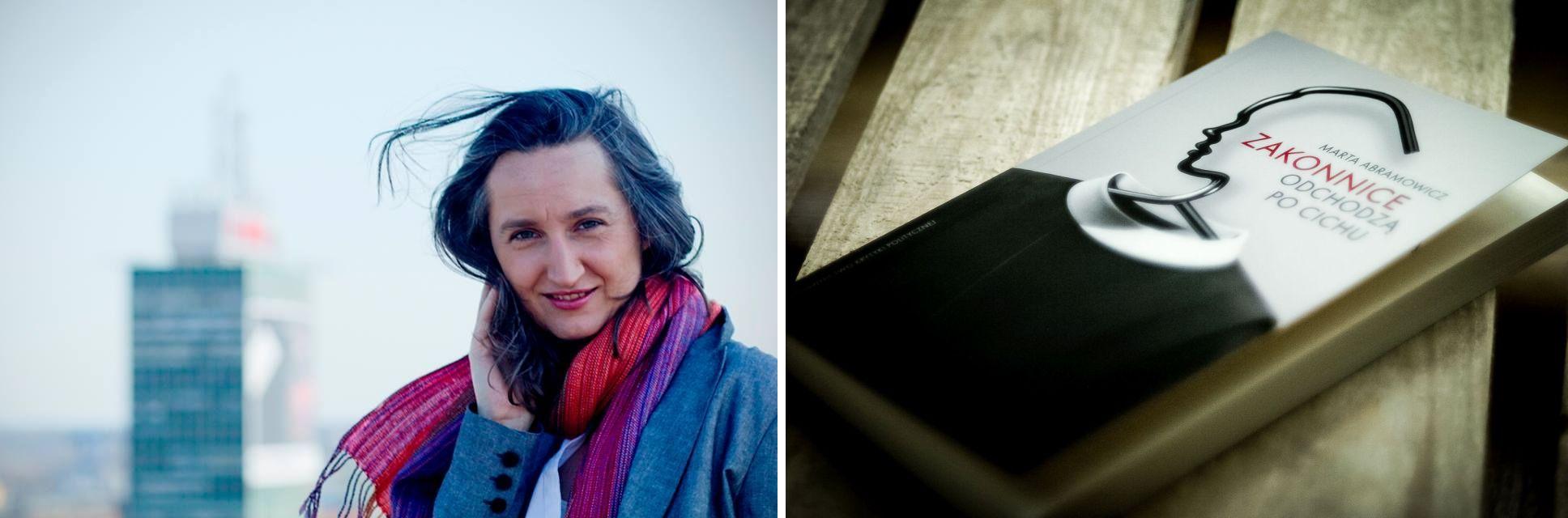 Marta Abramowicz i jej książka (fot. materiały prasowe)
