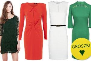 Sukienki w �wi�tecznych kolorach - idealne na Wigili�
