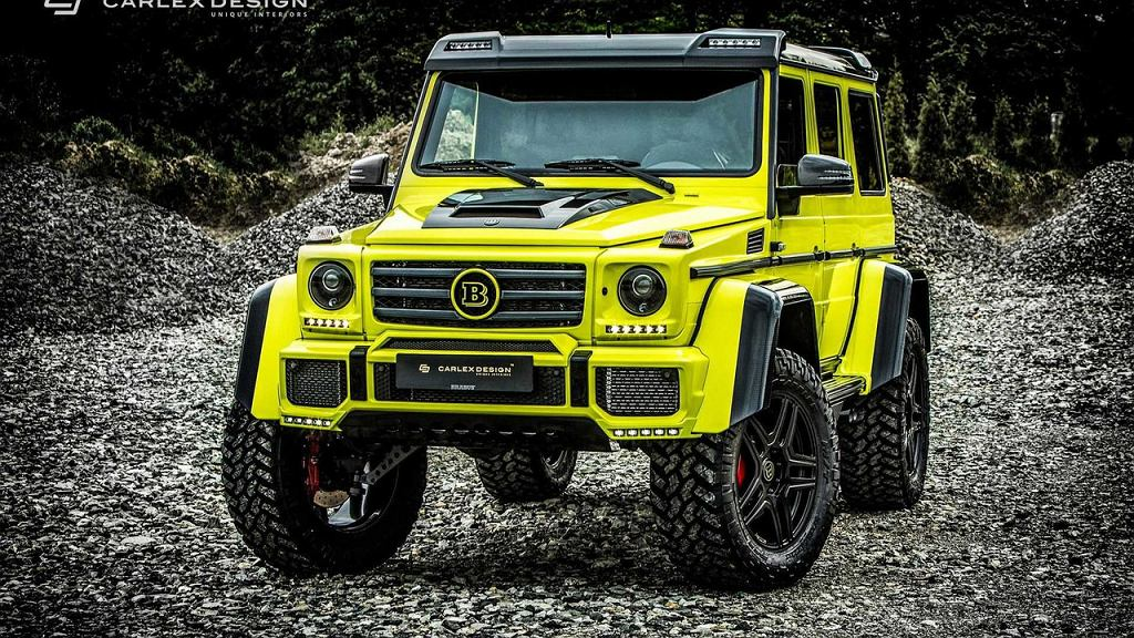Brabus G500 4x4^2 by Carlex Design