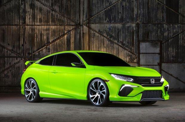 Salon Nowy Jork | Honda Civic Concept | Przedsmak