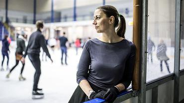 Agnieszka Pucuła po czterdziestce odkryła swoją pasję - łyżwiarstwo figurowe