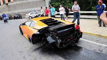 Jedno z 350 wyprodukowanych egzemplarzy Lamborghini Murciélago LP670-4 SV