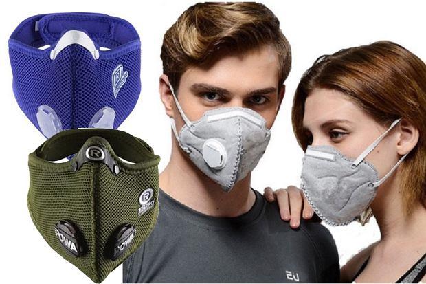 Maski antysmogowe - rodzaje
