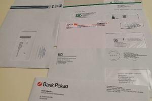 Stos listów od banków wypadał ze skrzynki na zwroty. Poczta: To pomyłka pracownika