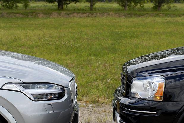 """Testujemy Volvo XC90 I i II generacji. """"Dwa światy"""""""